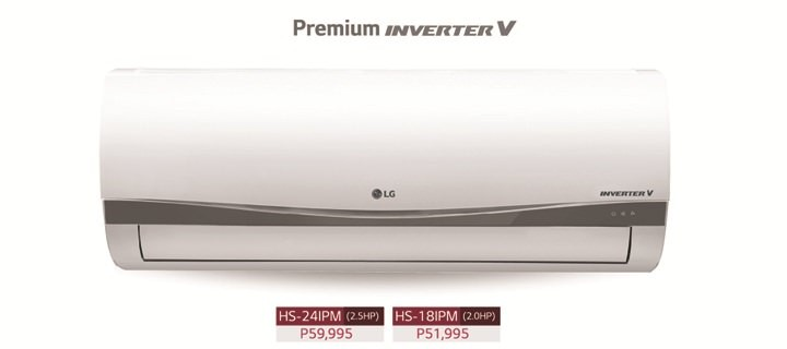 Meralco Biz customers can enjoy electricity savings when they switch to LG's Inverter V technology air conditioners