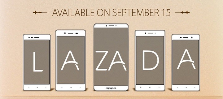 OPPO-Lazada Partnership starts Sept 15 for the R7 Series