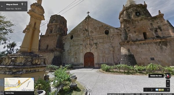 Miag-ao Church, Miagao, Iloilo Google Street View