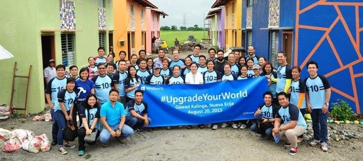 Microsoft joins Gawad Kalinga in Upgrading a Community in Nueva Ecija