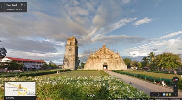 Paoay Church, Paoay, Ilocos Norte Google Street View