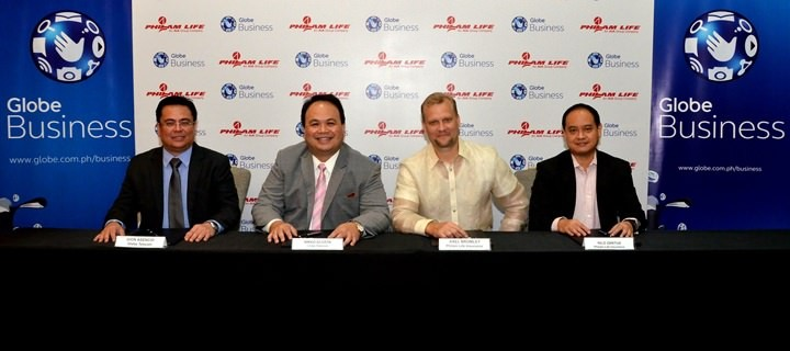 Philam Life renews partnership with Globe Business