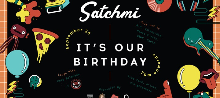 """""""IT'S OUR BIRTHDAY!"""" Satchmi Store Turns 1"""
