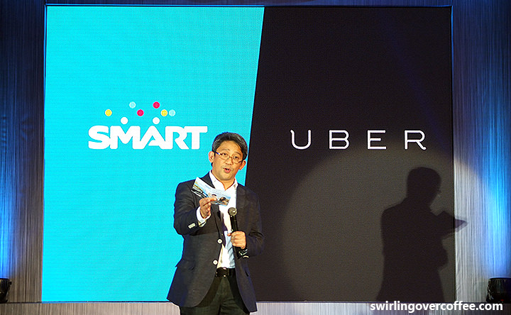 Smart Uber partnership, Free in-case WiFi to Uber riders