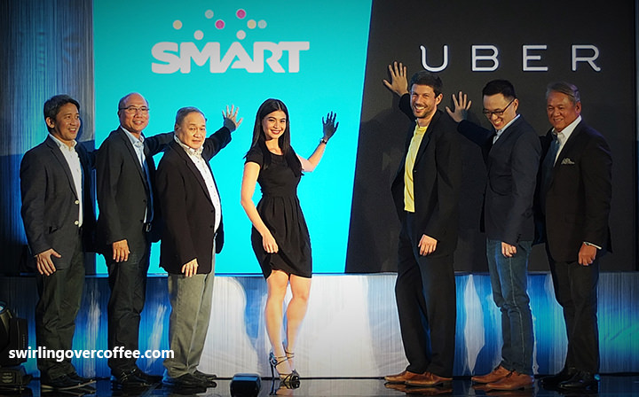 Smart Uber partnership, Free in-case WiFi to Uber riders, Anne Curtis