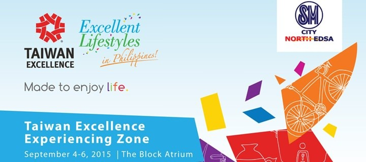 Taiwan Excellence Experiencing Zone provides another choice for Filipinos to spend their weekend