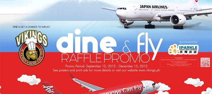 Vikings Dine & Fly Raffle Promo