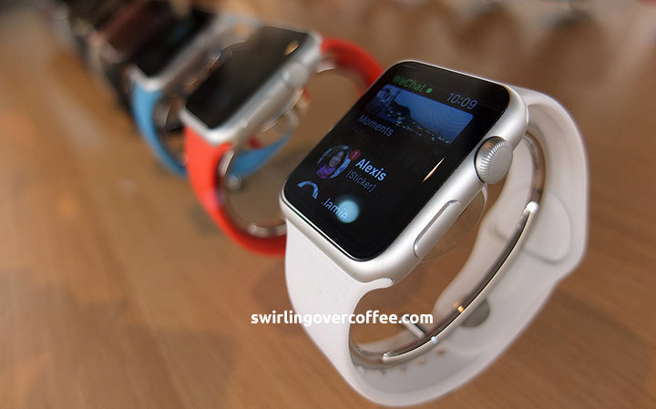 Apple Watch, starting at P19990, now available at Power Mac Center Greenbelt 3 and Trinoma