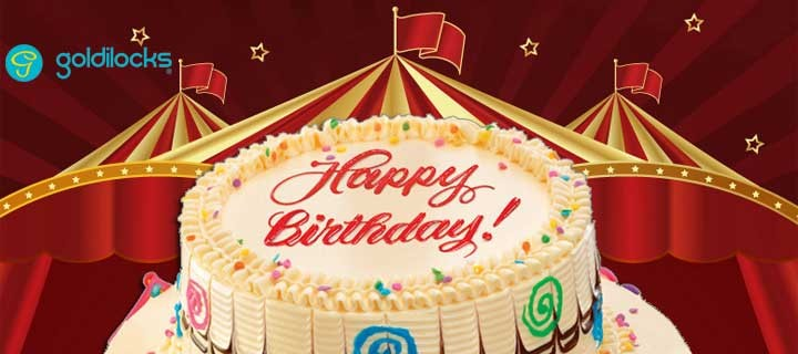 Step Right Up to the Goldilocks Carnival Birthday Cake