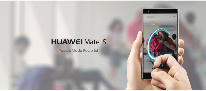Huawei Mate S: Give in to the luxury of touch