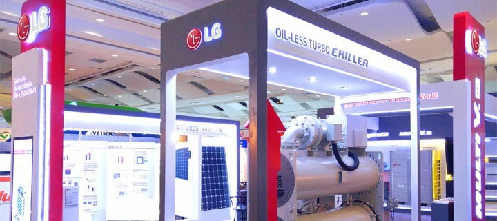 LG Electronics showcases innovative green solutions at HVAC/R Philippines expo; awarded 'Best Booth Design.'