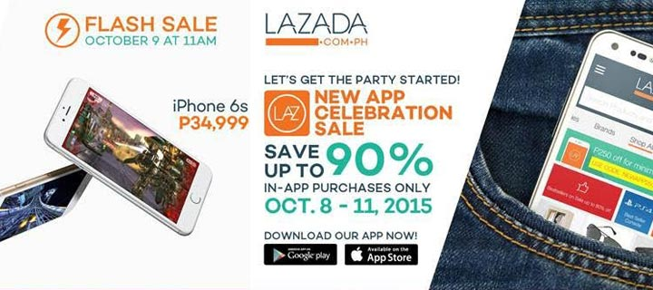 Lazada celebrates successful app launch with the lowest-priced iPhone 6s and a PhP 99 sale extravaganza