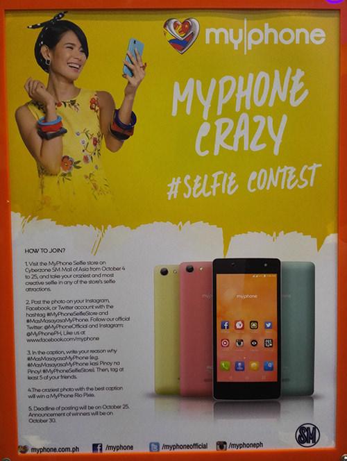 MyPhone Selfie Contest, MyPhone Selfie Store