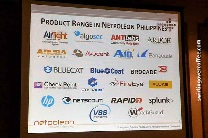 Netpoleon Security, Global Vendors