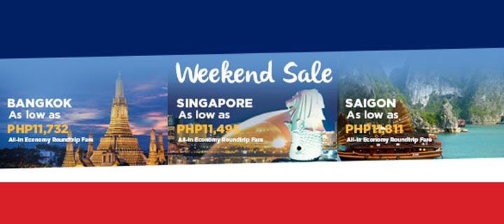 Experience Asia at affordable rates with PAL's weekend sale