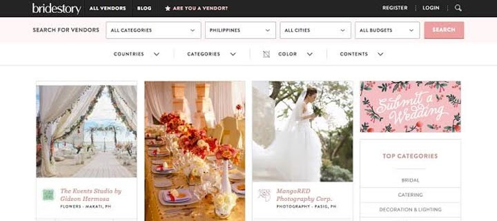 Planning the perfect wedding with Bridestory