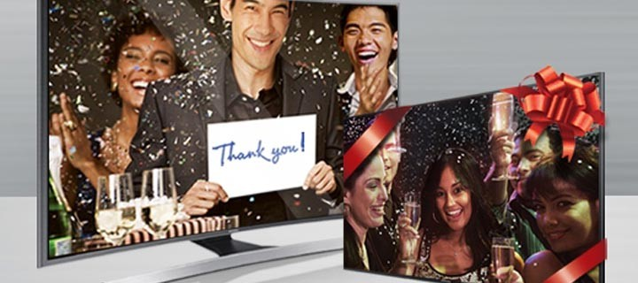 Samsung TV celebrates worldwide leadership  through a limited time promo
