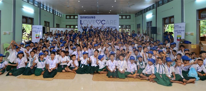Giving Back to the Community through Samsung's First Regional Employee Volunteer Program in Southeast Asia & Oceania