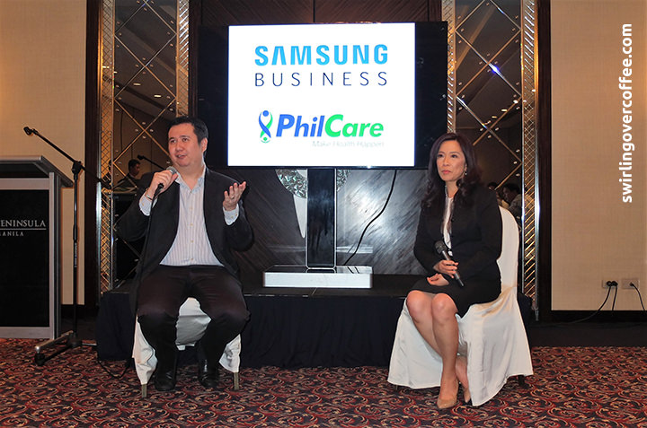 Samsung, PhilCare, NFC