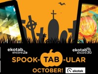Ekotek's SpookTABular October Promo!