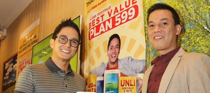 Sun unveils value-packed Postpaid Plan 599 with Ryan Agoncillo as new brand ambassador