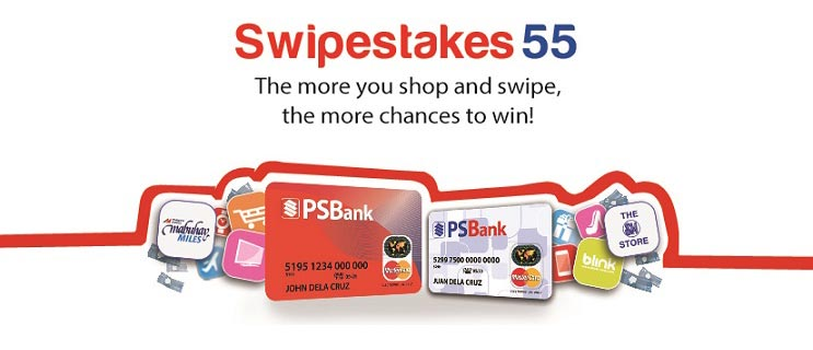 Get a chance to win exciting prizes with your PSBank Debit and Prepaid MasterCard!