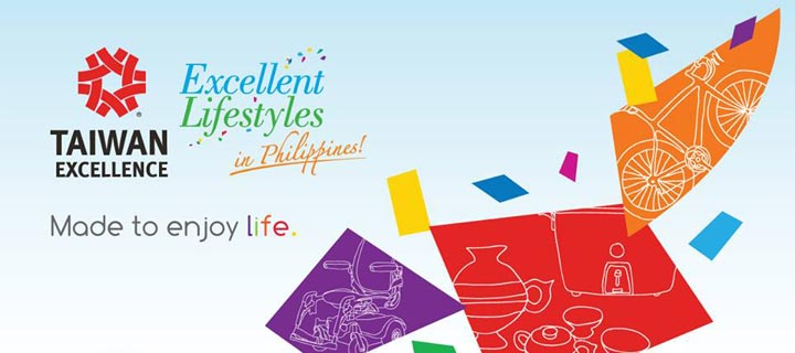 Taiwan Excellence participates  in the 2015 Expo Manila FAME
