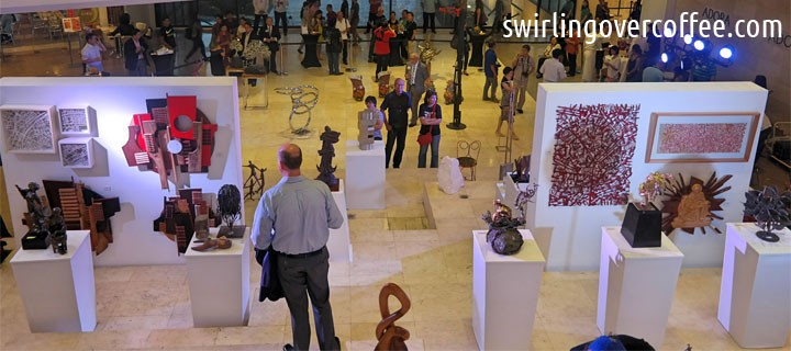 Alay Sining 8 by Rotary Club of Makati West Art Exhibit-Sale starts November 12