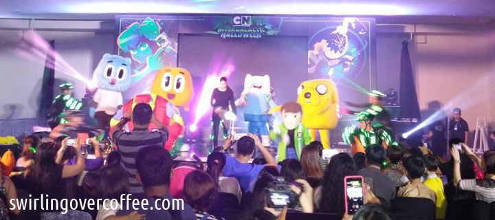 Ben 10 celebrated his birthday while human guests mingled with aliens and other out-of-this-world entities