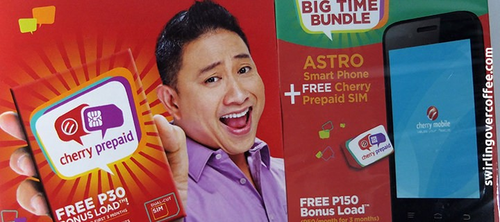 Launched: Cherry Mobile Prepaid SIM and Phone Bundles, powered by Globe, endorsed by Michael V