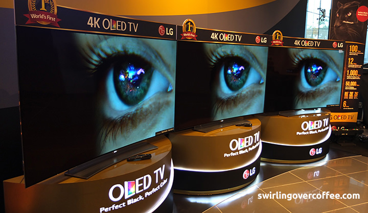 LG locally launches the world's first Curved 4K OLED TV