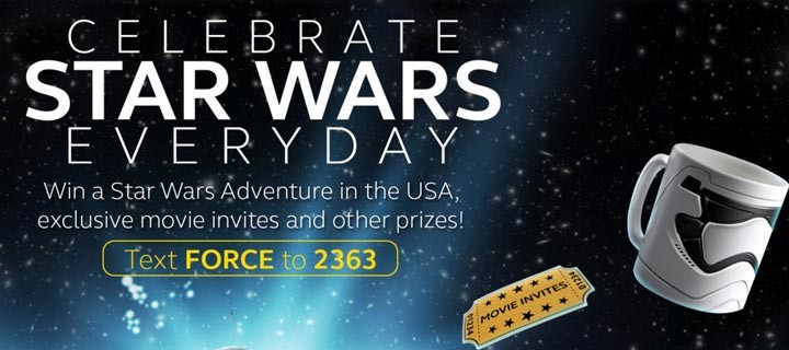 Celebrate StarWars Everyday with Globe