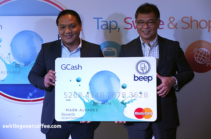 GCash beep MasterCard is your ATM, pre-paid, and MRT/LRT beep card