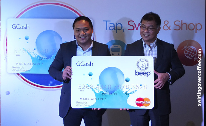 GCash beep MasterCard is your ATM, pre-paid, and MRT/LRT beep card  all rolled into one