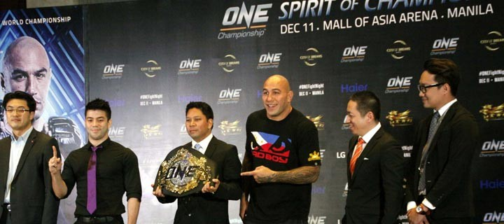 Haier announces brotherhood with ONE Championship for this year's Spirit of Champions