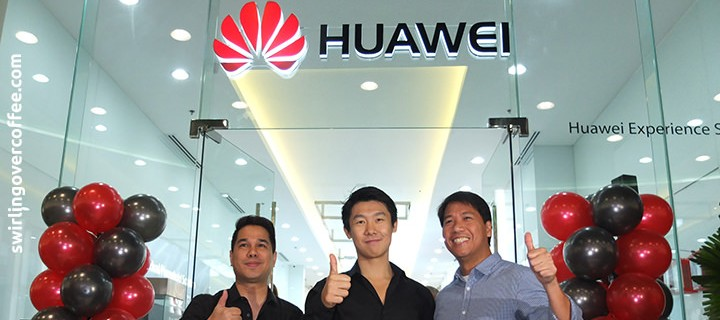 Huawei opens its first Experience Shop in SM Mall of Asia