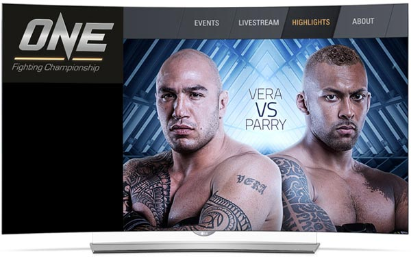 Global technology innovator LG Electronics brings the epic ONE FC experience to MMA enthusiasts via the ONE Championship app available for free in LG Smart TVs.
