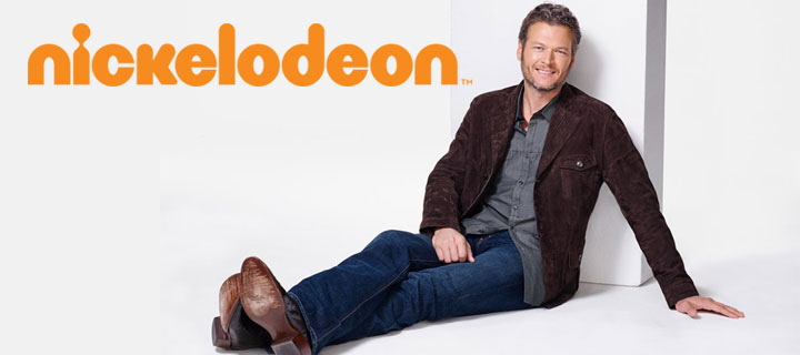 "Country music superstar Blake Shelton to host ""Nickelodeon's 2016 Kids' Choice Awards"""