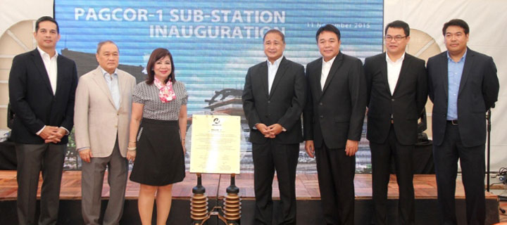 MERALCO recently inaugurated PAGCOR-1 Entertainment City Sub-station