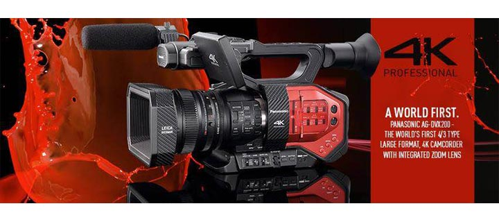 Panasonic leads push for digital TV Launches 4K HD resolution Varicam