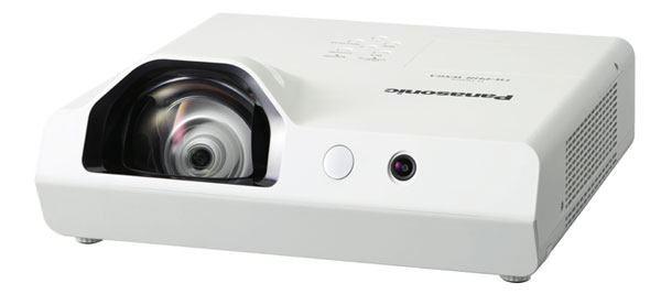 With the Panasonic PT-TW341R, presentations become highly interactive and effective. Write on the projected image using the interactive pen and store the new image on your computer.