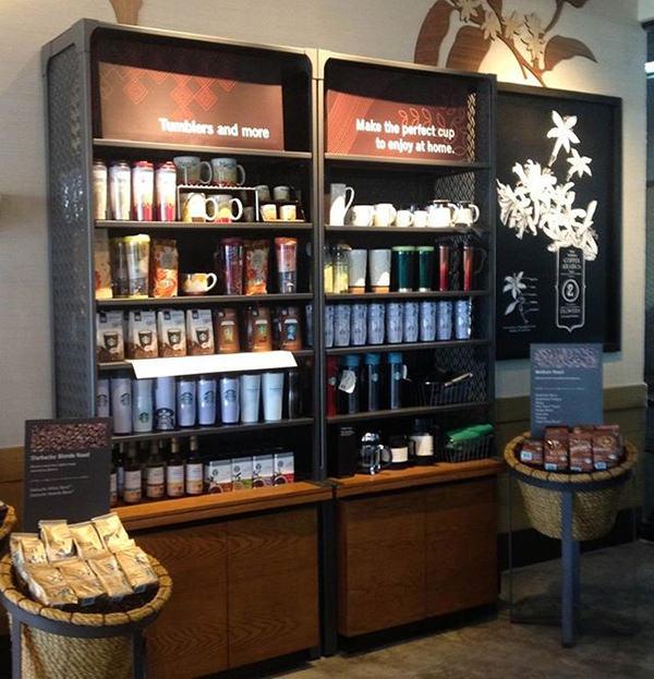 Starbucks Cabinet