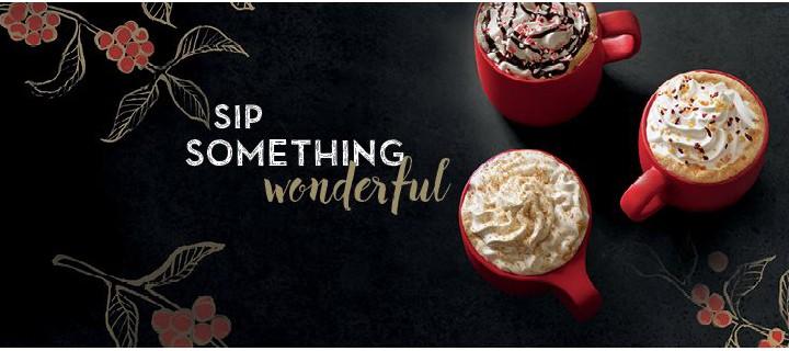 Spark the Christmas spirit with Starbucks
