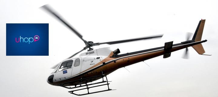 U-hop to offer chopper, private plane and yacht services