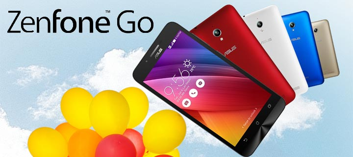 Go Everywhere with the ASUS ZenFone Go!