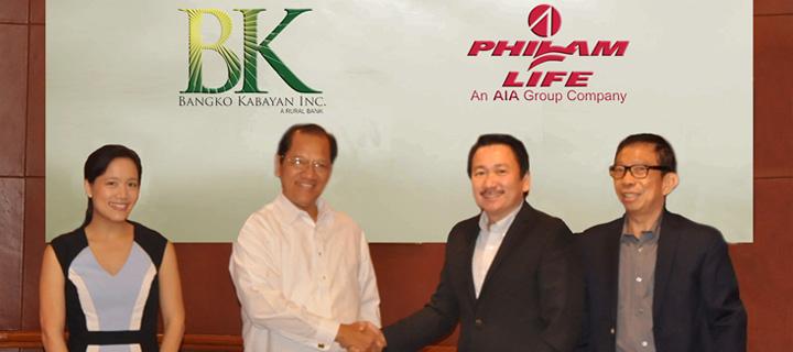 Bangko Kabayan selects Philam Life as Credit Life Insurer