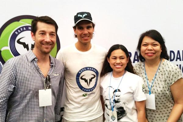 Globe-Rafa-Nadal-Tennis-Clinic-2