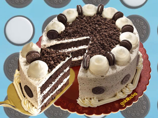 The Choco-Velvet Cake with Oreo from Goldilocks