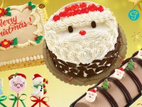Goldi-good cakes for the Christmas season