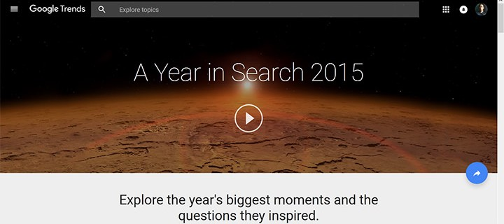 Google's Year in Search: AlDub, Pope Francis, APEC, and everything else we've Googled up in 2015